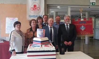 Avis Ghisalba festeggia i 45 anni FOTO