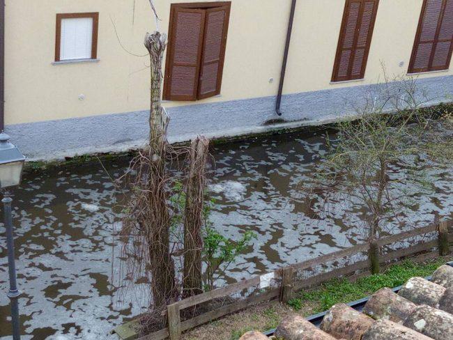 fosso inquinato Capralba