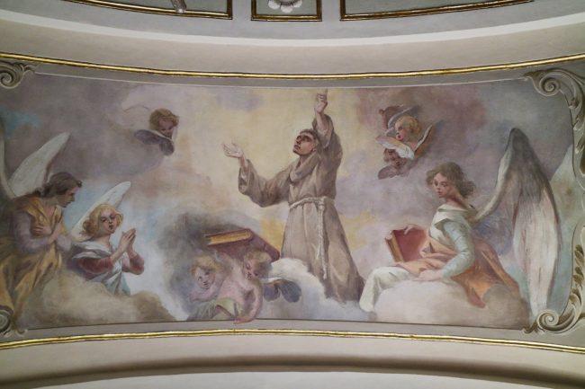 cappella restaurata S. Antonio
