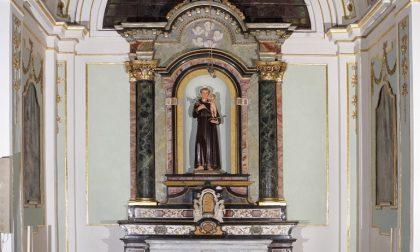Restaurata la cappella di Sant'Antonio: torna a splendere grazie alla famiglia Luinetti