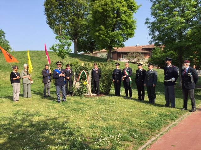25 aprile Caravaggio, si celebrano le nuove resistenze VIDEO
