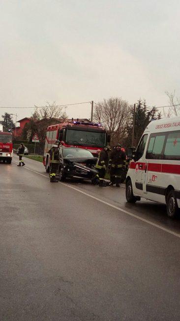 incidente tra Boltiere e Pontirolo