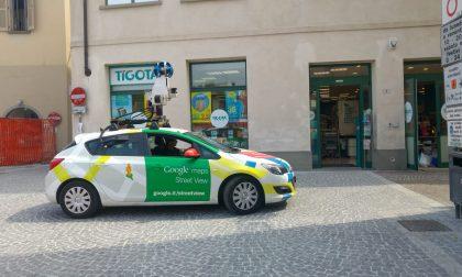 """Il cantiere di piazza Setti """"incastra"""" Google street view"""