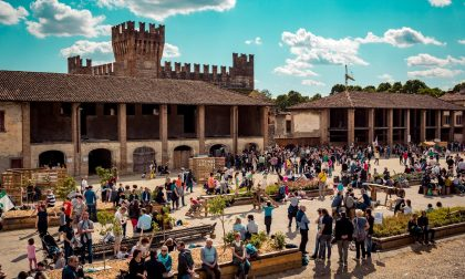Picnic di Pasquetta al castello di Malpaga, boom di presenze
