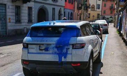 Vendicatore blu a Crema? No, solo un incidente