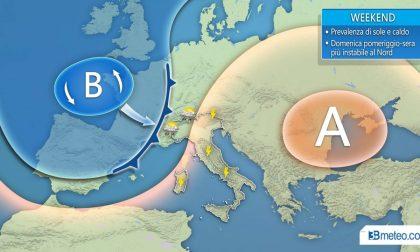Meteo ponte primo maggio variabilità con qualche temporale
