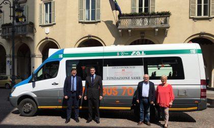 Omnibus 65, a Treviglio navetta gratis per gli ultrasessantacinquenni