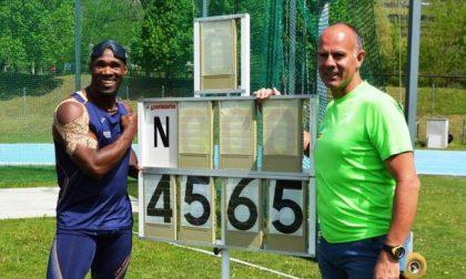 Oney Tapia record mondiale a Sondrio