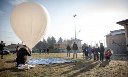 Pallone sonda dalla Bassa allo Spazio per fotografare la Terra