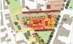 Piazza don Sandro, due idee per la riqualificazione