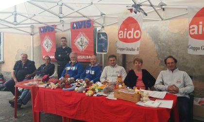 Festa delle associazioni e del volontariato in piazza FOTO