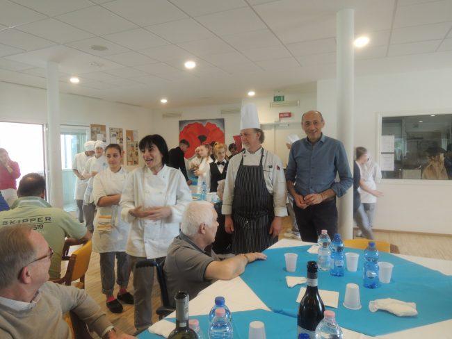 Anni Sereni, il pranzo è servito con gli studenti di Abf