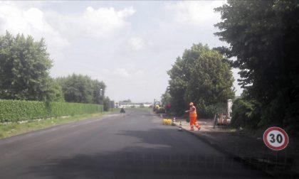 A nuovo il manto stradale sulla Sp136