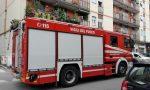 Principio di incendio in centro a Brembate