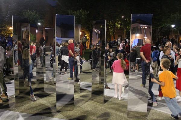 Inaugurazione piazza Setti Treviglio