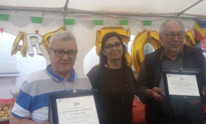 Rivolta festeggia 50 anni di «Arci» al circolo «Il Sole» FOTO