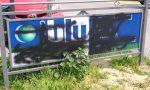 Studio Blu, pubblicità cancellata (di nuovo) con la vernice spray