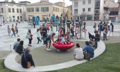 Piazza Setti viva con la gioia dei bambini FOTO