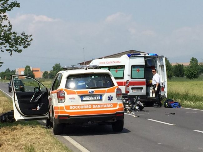 incidente brignano