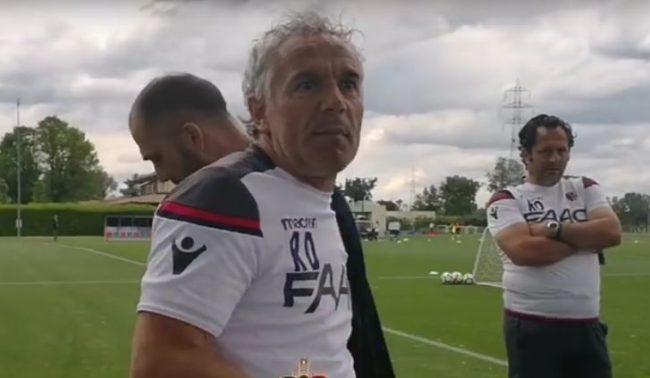 Donadoni litiga con un tifoso del Bologna