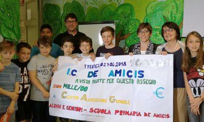 La scuola De Amicis solidale con il Cag