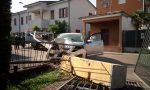 Incidente Fara | Manca la curva e abbatte un pilastro di cemento, ferita una donna FOTO VIDEO