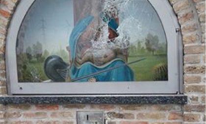 Santella danneggiata per rubare le offerte FOTO