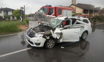 Grave incidente a Ticengo, tre persone ferite