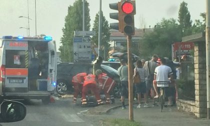 Incidente a Urgnano, coinvolte quattro persone in buone condizioni