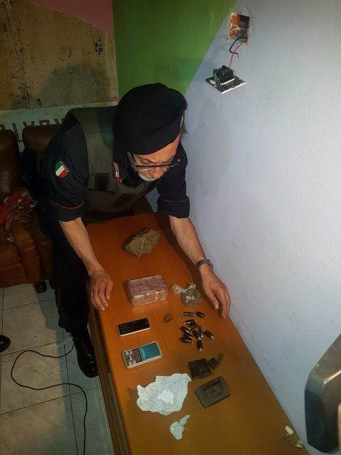maxi blitz carabinieri a Zingonia