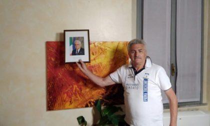 Trescore Cremasco, pace fatta fra Barbati e la foto di Mattarella