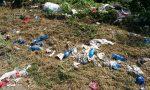 Fara d'Adda, dopo il taglio dell'erba spuntano rifiuti FOTO