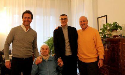 Pino Bussi, l'incontro con Bergomi e Ferri 30 anni dopo