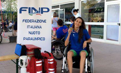 La dottoressa Giulia star nel nuoto paralimpico