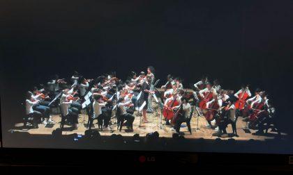 I ragazzi delle scuole trevigliesi in concerto al Tnt