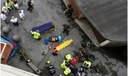 Dramma a Mandello: bambino cade dalla finestra