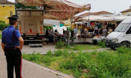 Ruba bancomat al mercato, denunciata nomade trevigliese FOTO