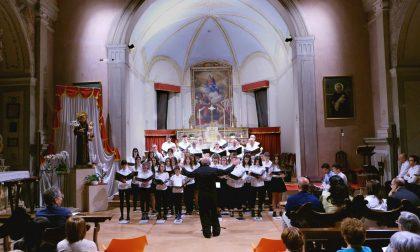 Concerto per cori nell'Antica Pieve di San Vittore FOTO