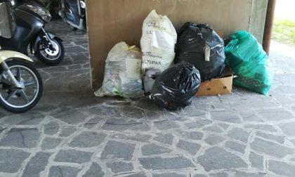 Rifiuti abbandonati, 48 multe a Treviglio in 12 giorni: si indaga aprendo i sacchi