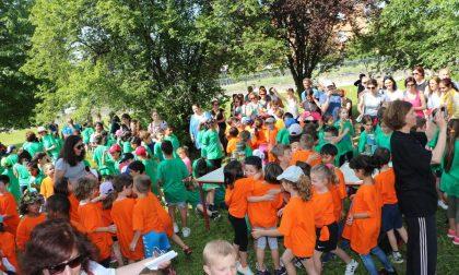 Giochi nel Pratone per le elementari Bicetti e De Amicis FOTO