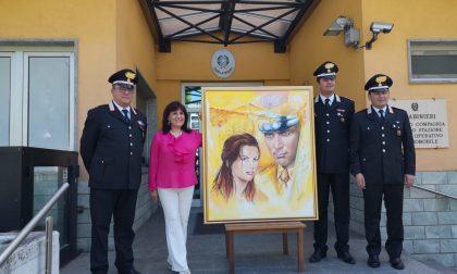 Carabinieri, un quadro per la Compagnia di Treviglio