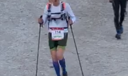 Medico maratoneta protagonista alla corsa massacrante delle Dolomiti