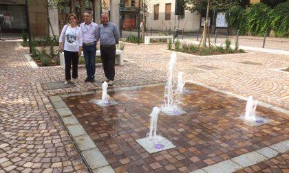 L'acqua in piazza Setti (e in piazzetta) non è potabile, arriva il cartello