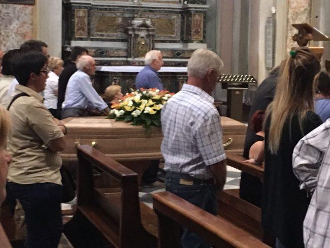 Funerale di Marino Cucchi Romano