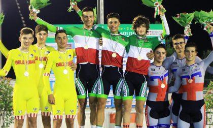Devlyn Chiappa campione italiano della velocità a squadre
