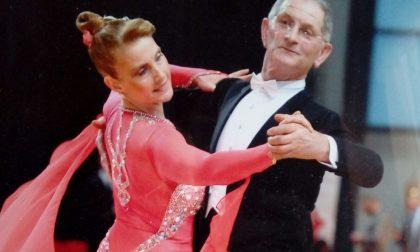 Campionati nazionali di ballo, Annamaria e Stefano sul podio FOTO