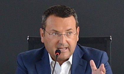 Il sindaco di Martinengo Paolo Nozza alla guida di FerrrovieNord