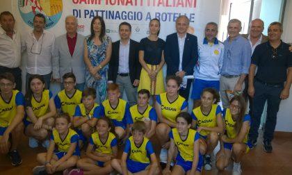 Campionati italiani di pattinaggio al via a Cassano d'Adda