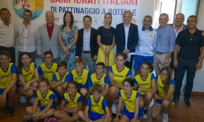Pattinaggio, presentati gli Italiani di Cassano d'Adda