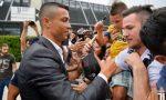 Cristiano Ronaldo: l'abbraccio dei tifosi a Torino | FOTO